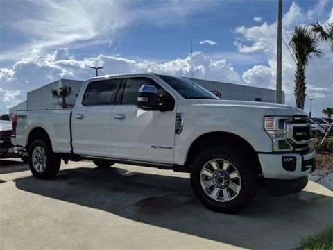 Pre-Owned 2020 Ford F-250SD Platinum